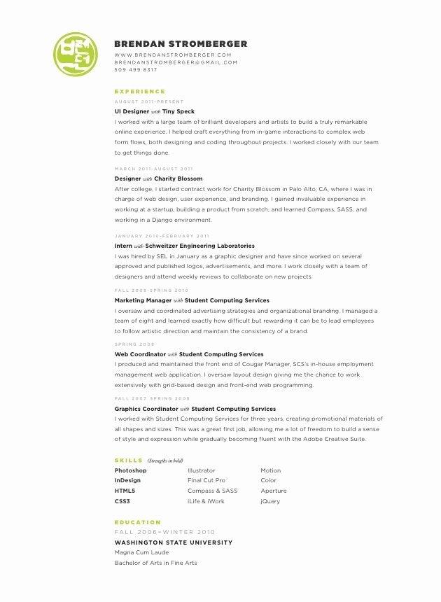 Cover Letter for Ui Designer