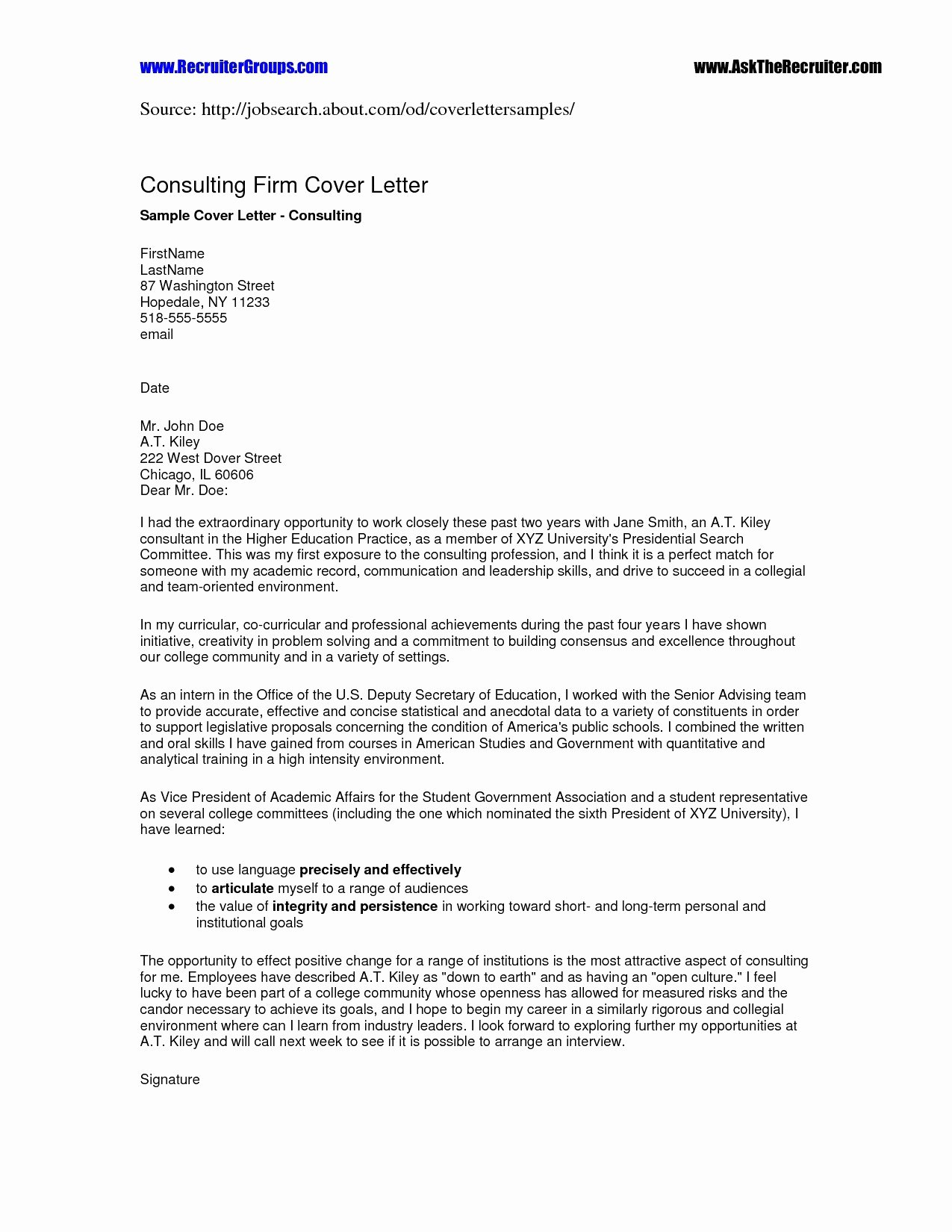 Cover Letter Google Doc Template Collection