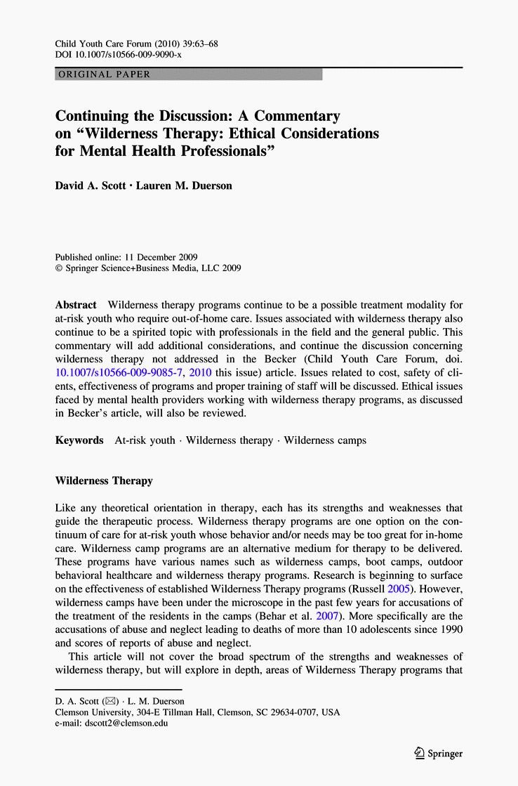 Cover Letter Mental Health Counselor