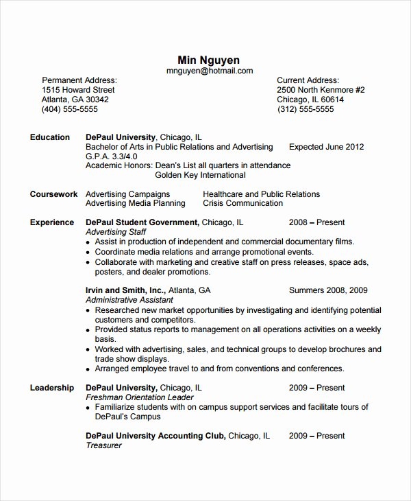 Cover Letter Resume Template for No Experience How to