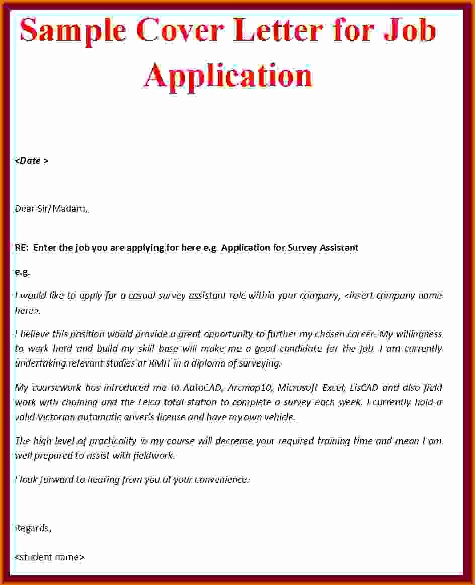 Cover Letter Sample 2016reference Letters Words