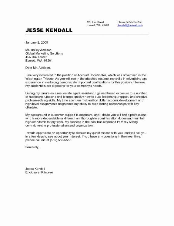 Cover Letter Teaching Position Career Change