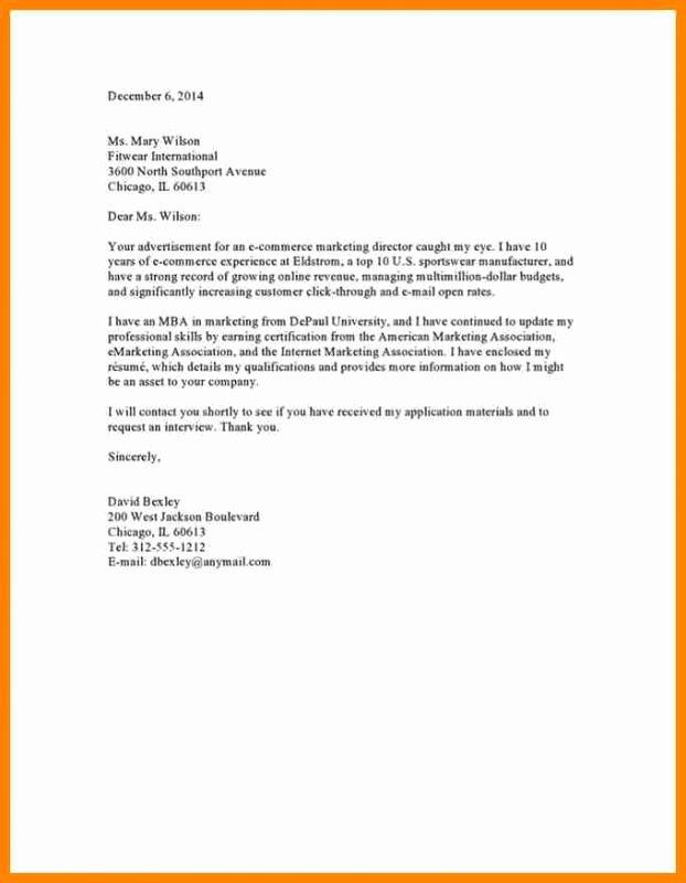 Cover Letter Template Google Docs