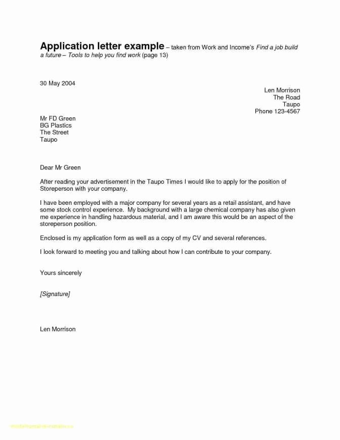 Cover Letter to Recruitment Agency Example Cover Letter