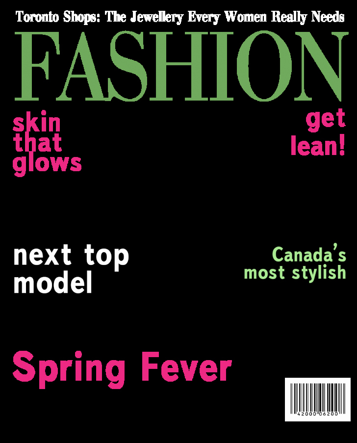 Cover Magazine Cover Template