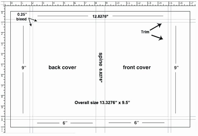 Cover Wrap Example Layout Book Dust Jacket Template