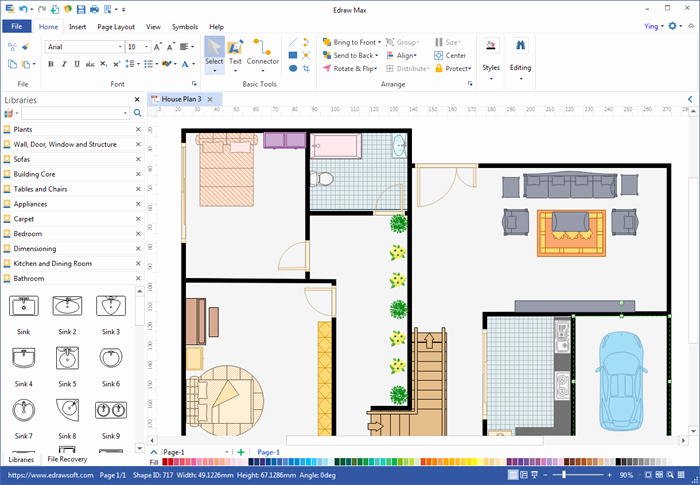 Create Floor Plan for Pdf