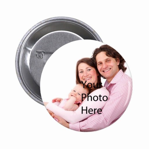 Create Your Own Photo Template Pinback button