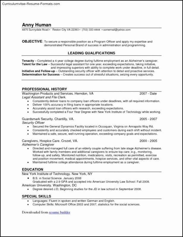 Create Your Own Resume Template Free Samples Examples