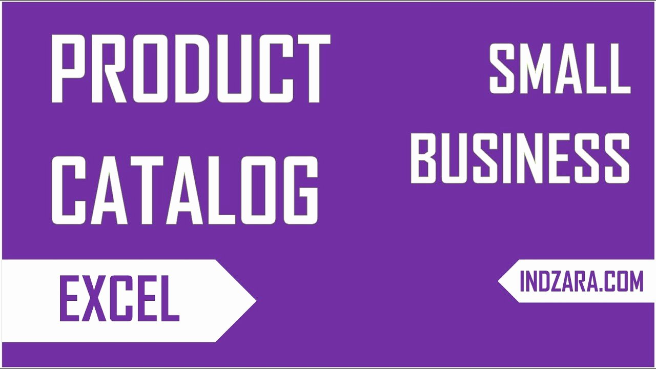 Create Your Own Small Business Product Catalog Free