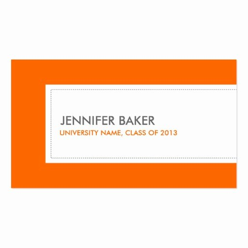 Create Your Own Student Business Cards