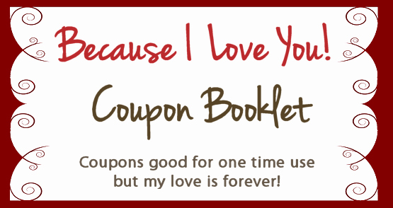 Create Your Own Valentines Coupon Booklet for Free