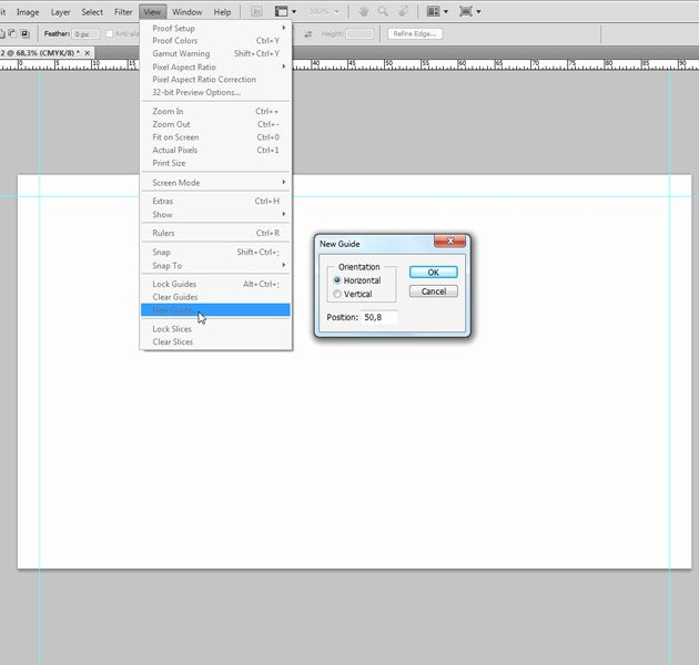 creating a blank business card