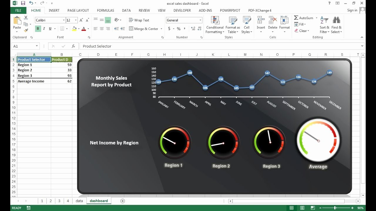 Creating Interactive Excel Dashboard Excel Dashboard