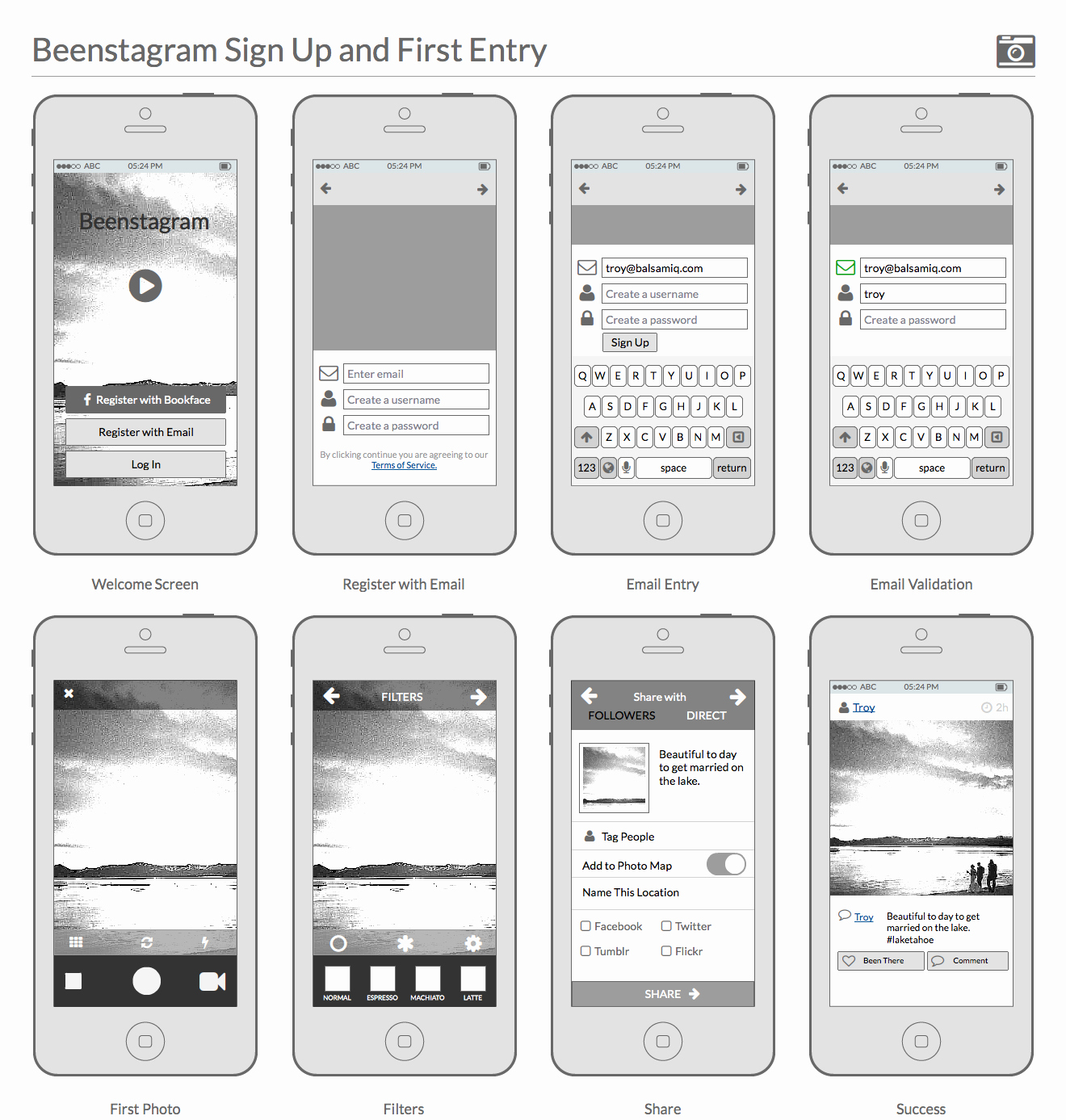 creating polished wireframes