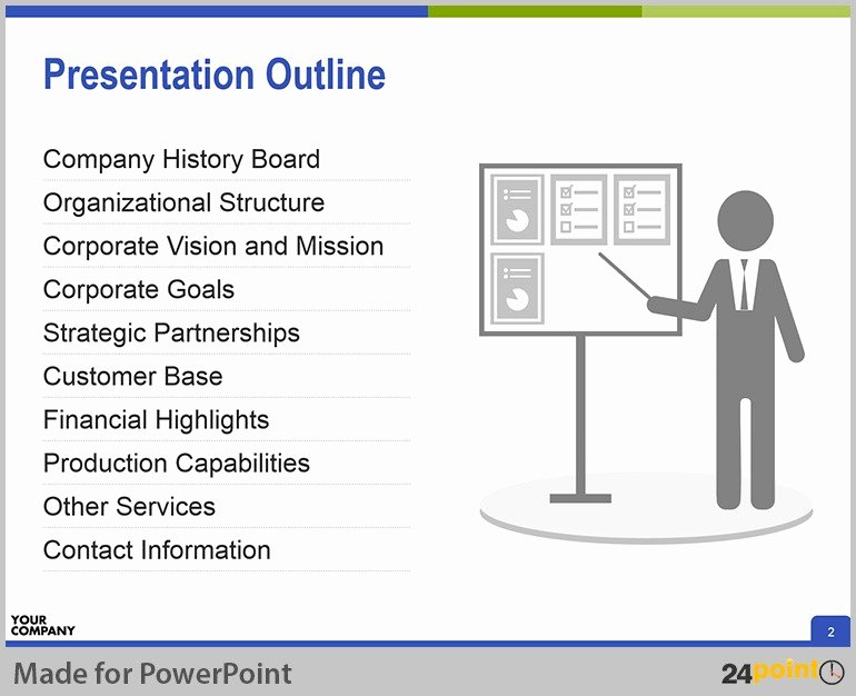 Creating Successful Corporate Profile Powerpoint