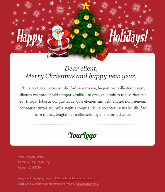 Creating the Perfect Holiday Newsletter for Your Small