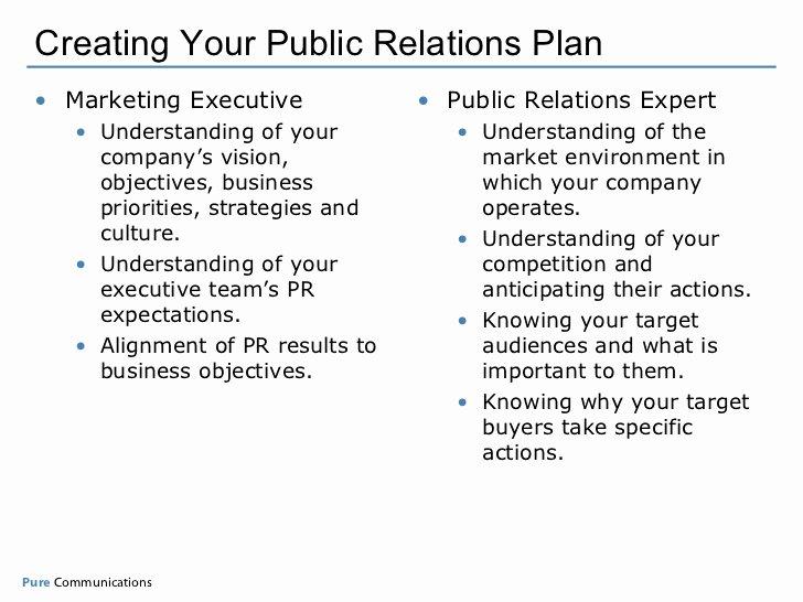 Creating Your Measurable Pr Plan