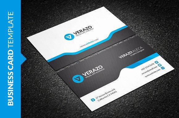Creative & Modern Business Card Business Card Templates