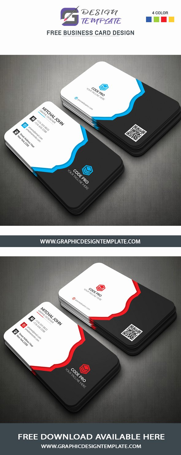 Creative Business Cards Psd Templates Free Download