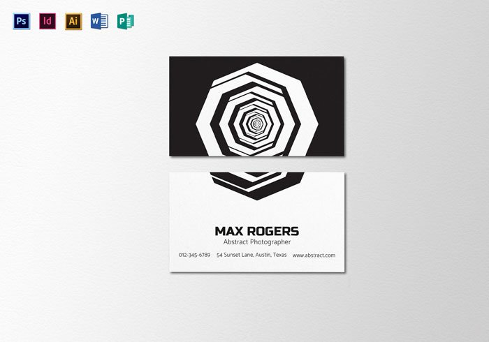Creative Graphy Business Cards 31 Examples