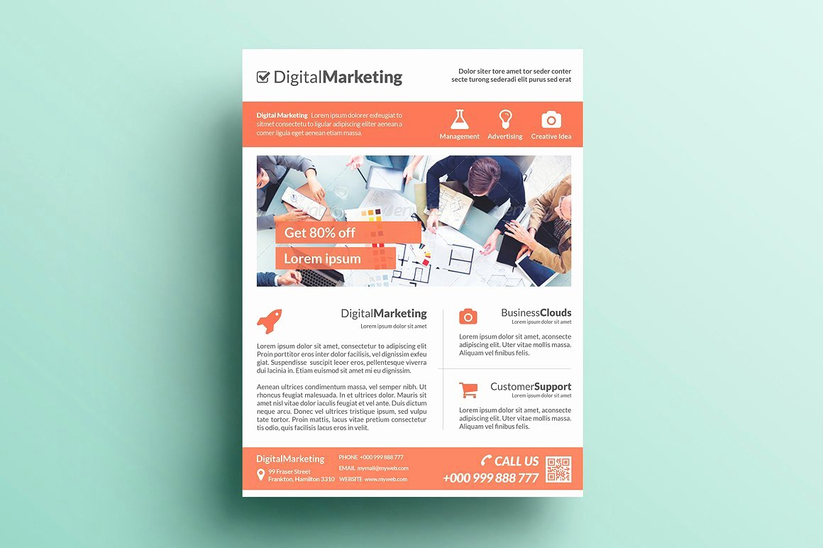 Creative Marketing Flyer V15 Flyer Templates Creative