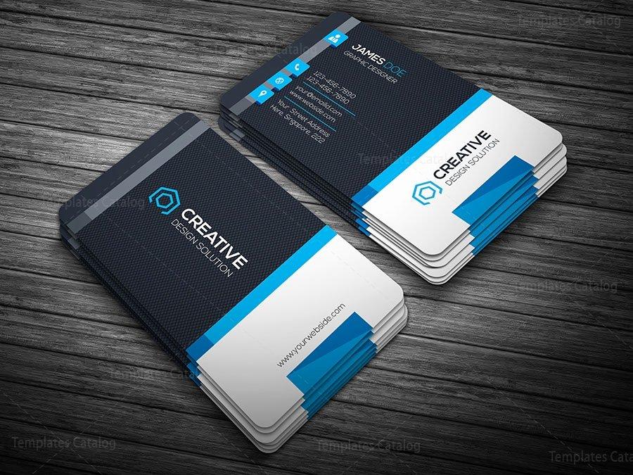 Creative Modern Business Card Template Template