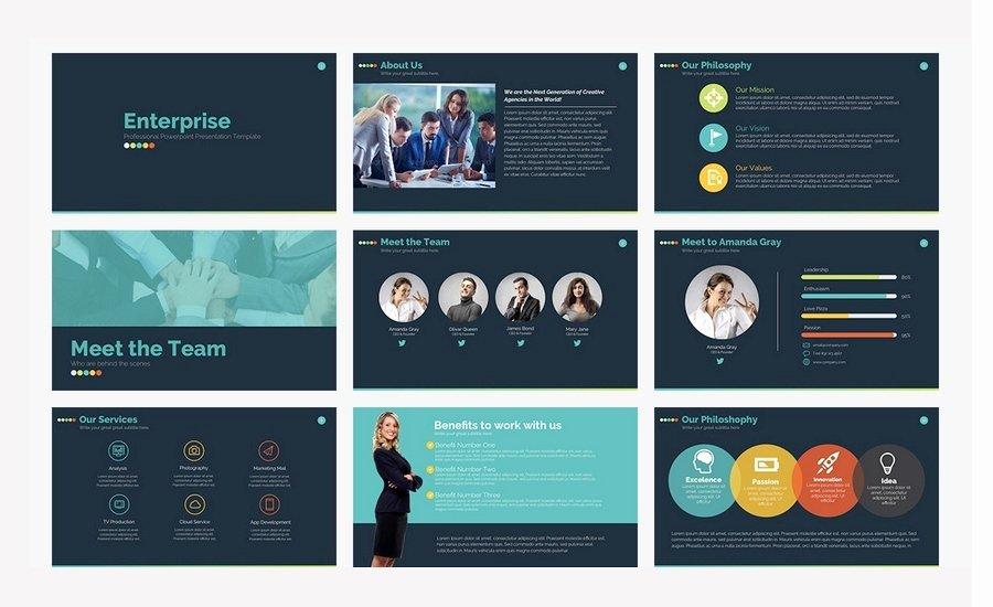 creative powerpoint presentation design