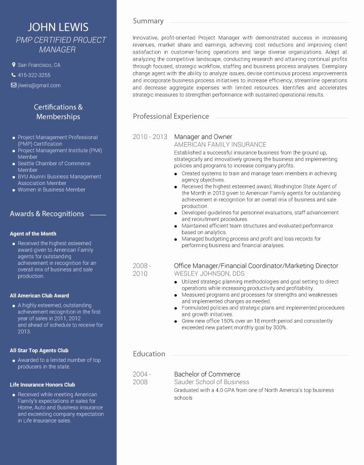 Creative Resume Builder Line