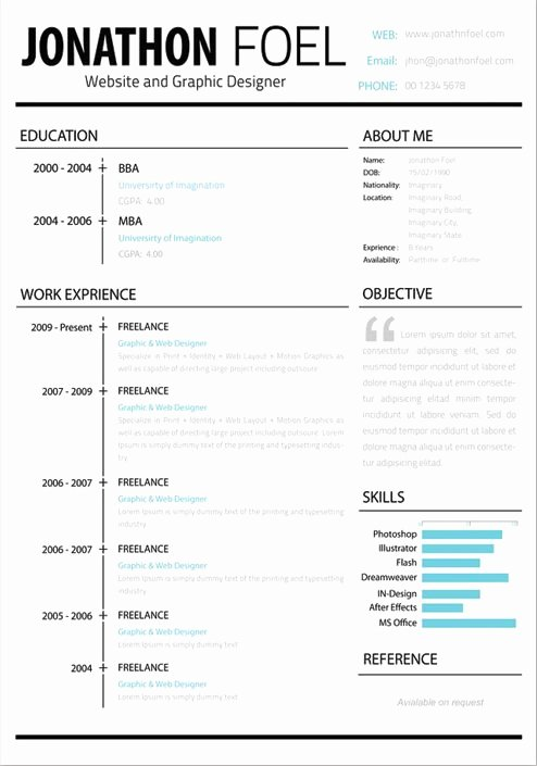 Creative Resume Templates Free Google Search