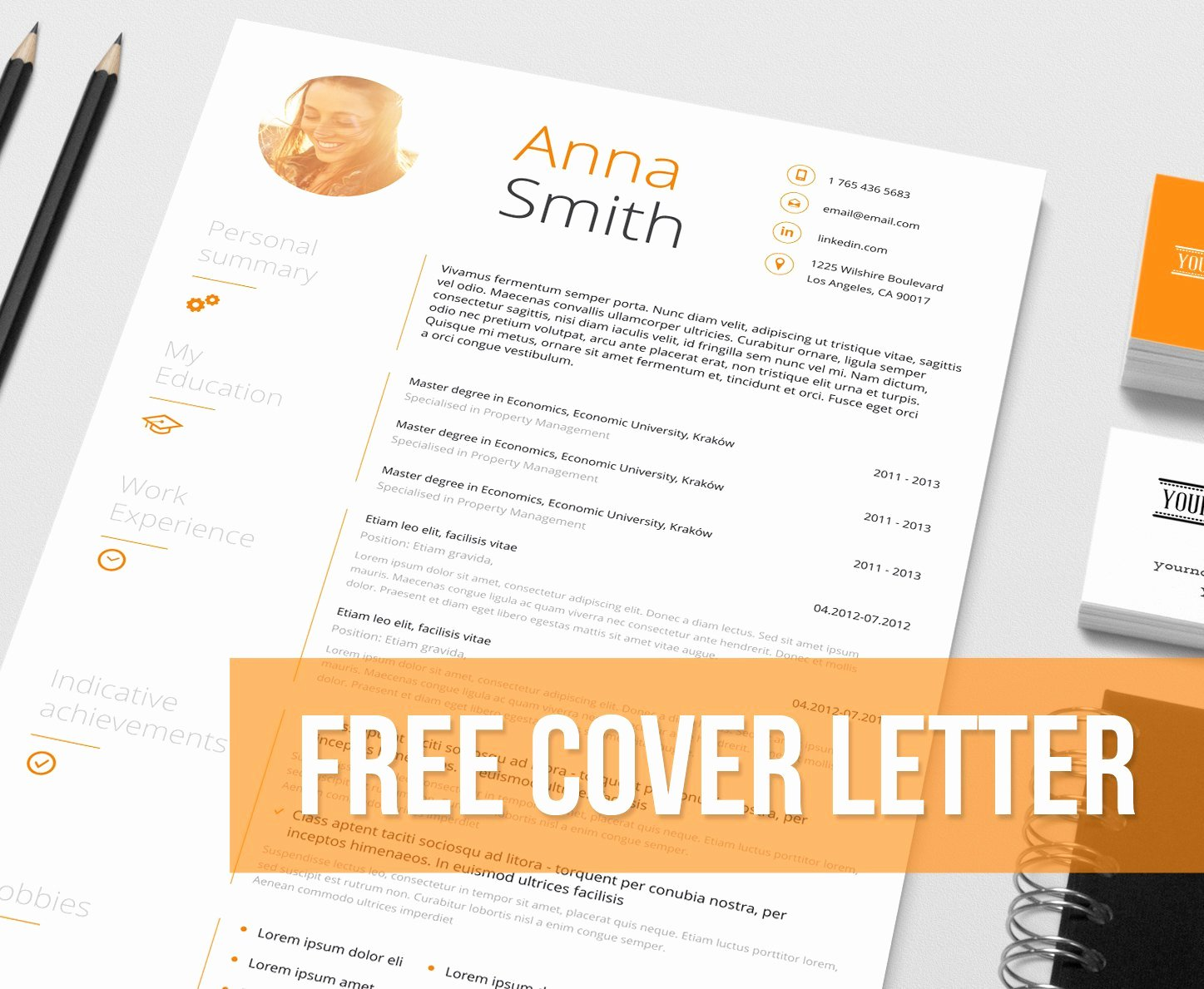 Creative Resume Templates Free Word format Doc Download