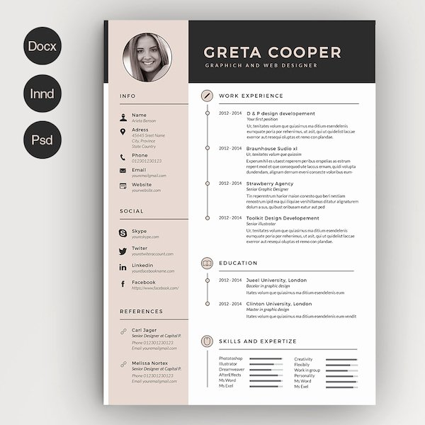 Creative Résumé Templates that You May Find Hard to