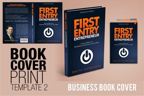 Creativemarket Book Cover Template 2 Busineess
