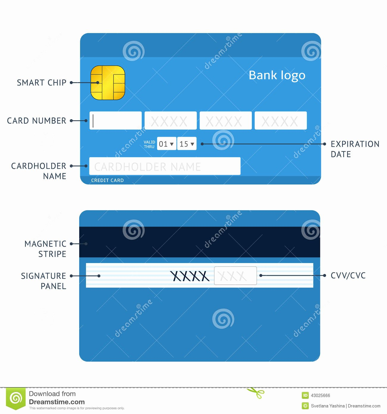 Credit Card Payment Stock Vector Illustration Of Business