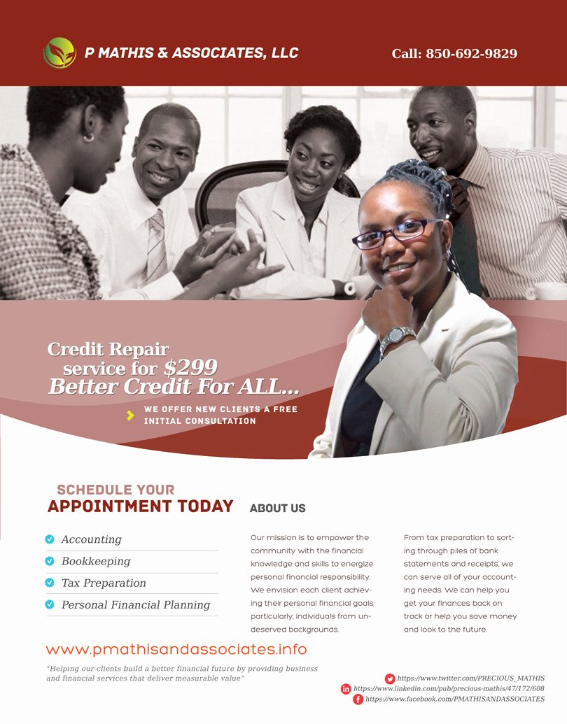 Credit Repair Flyers Baskanai