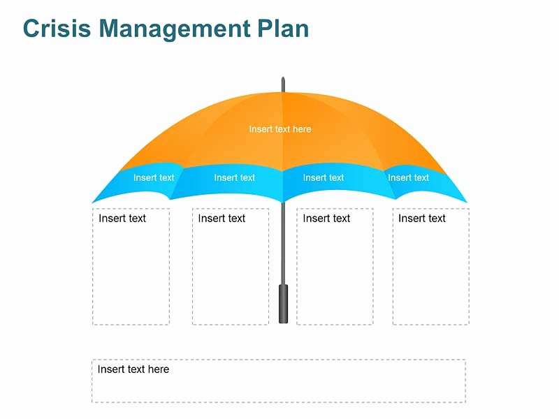 Crisis Management Plan Editable Template for Ppt