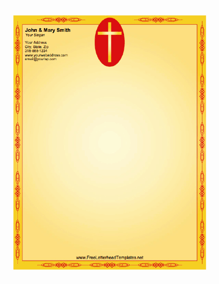 Cross Letterhead