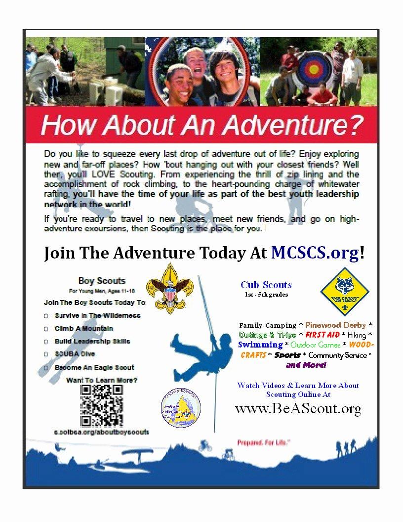 Cub Scout & Boy Scout Parent orienation Thursday Sept