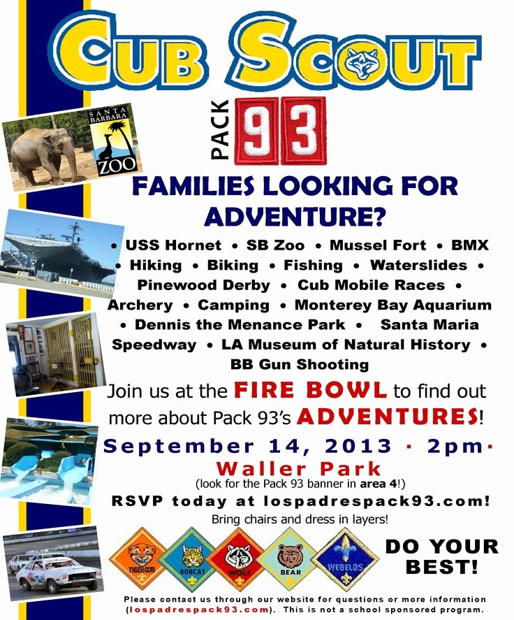 Cub Scout Join Night Flyer Google Search Let Our 15
