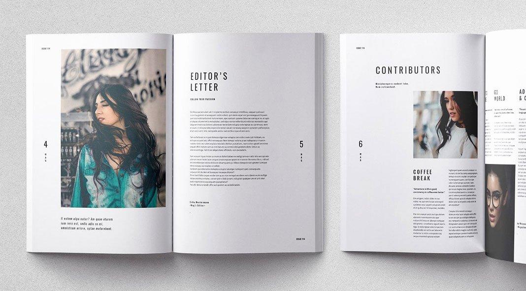 Cult Adobe Indesign Magazine Template