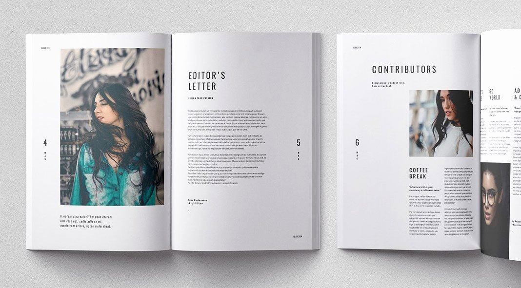 Cult Adobe Indesign Magazine Template