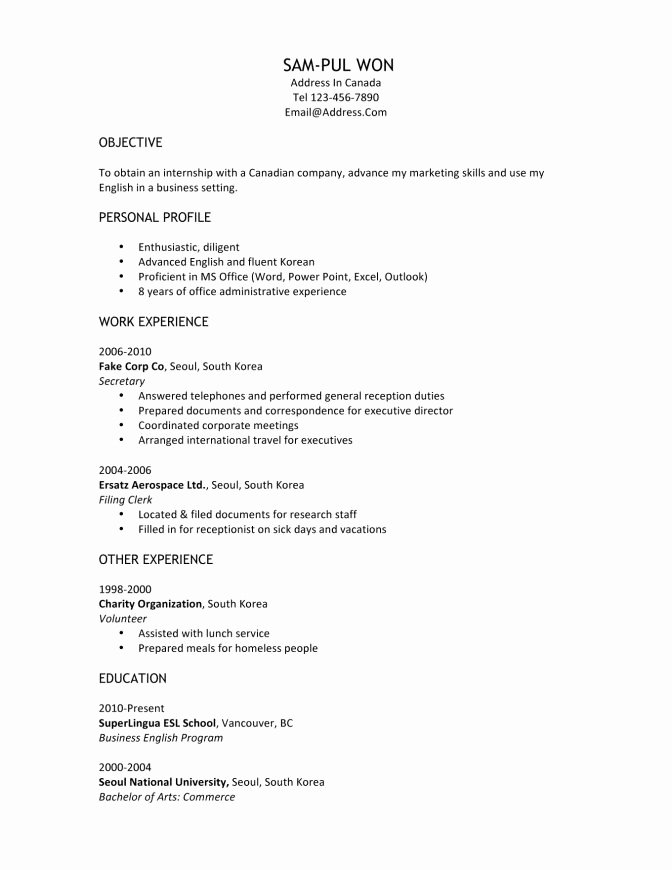 Current College Student Resume Example New Trends In