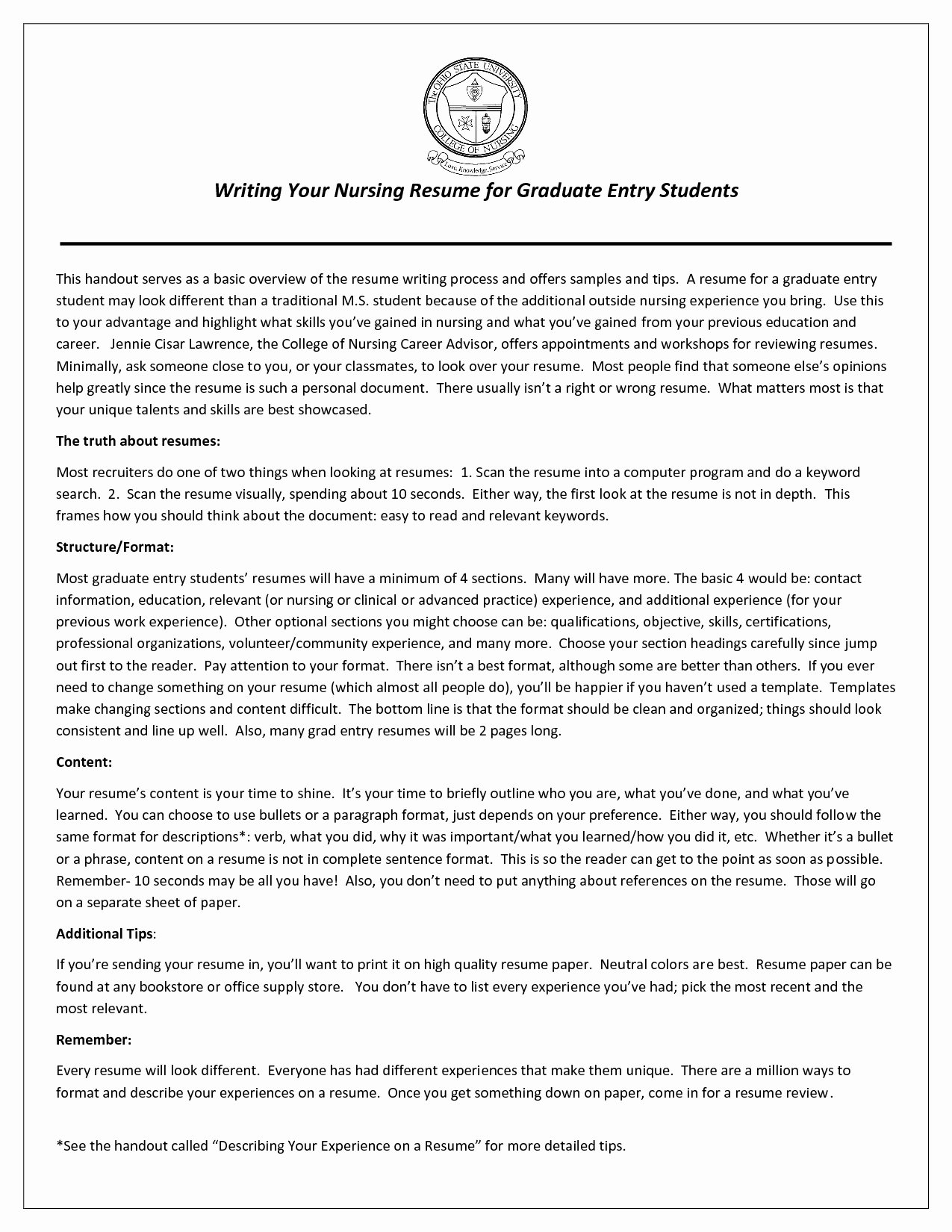 Curriculum Vitae Samples for Nurse Practitioner Nursing