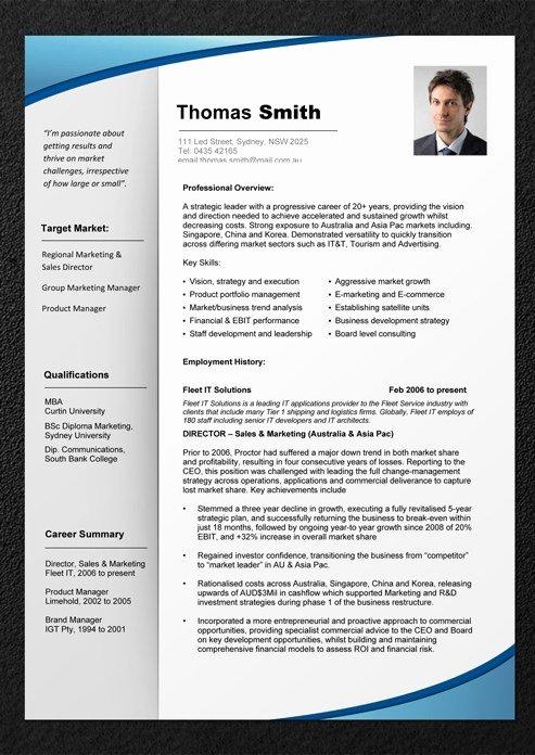 Curriculum Vitae Samples Pdf Template 2017