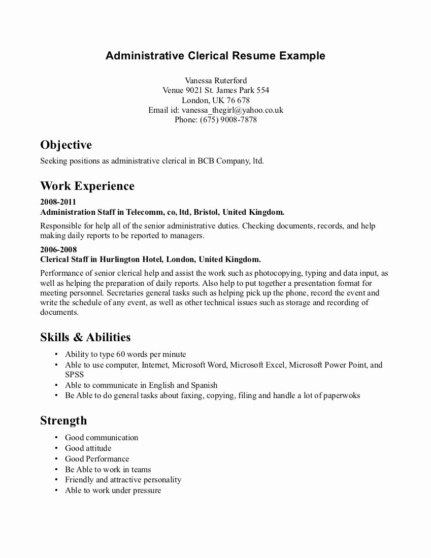 Custodian Cover Letter