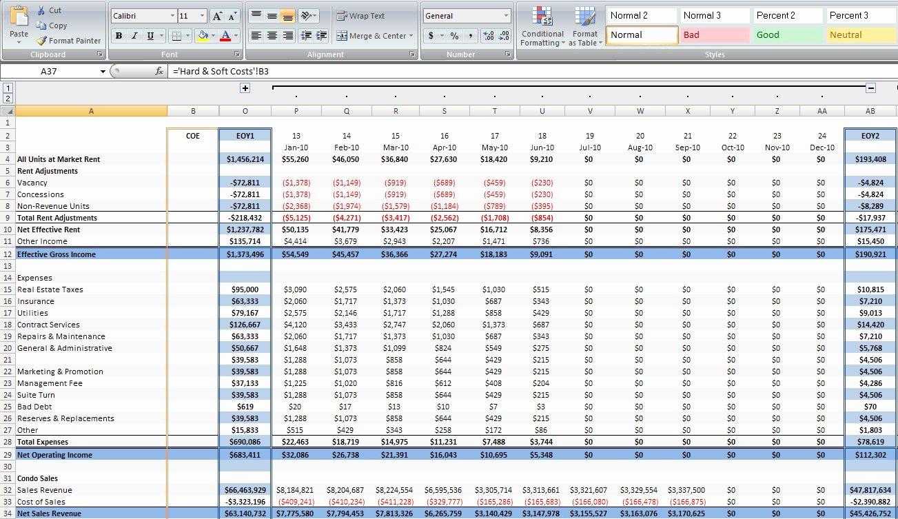 Custom Excel Spreadsheets