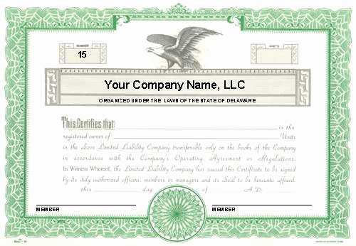 Custom Printed Certificates Limited Liability Pany