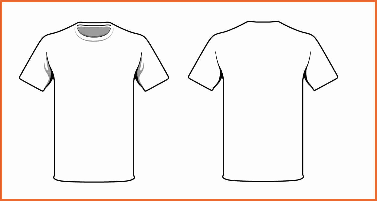 Custom Shirt Template Templates Station