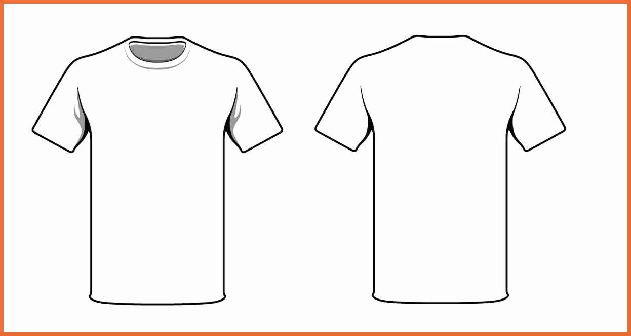 Custom Shirt Template Templates Station