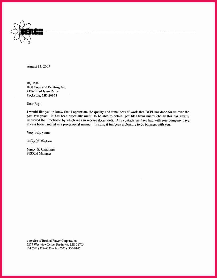 customer appreciation letter